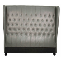 Alice Queen Bonded Leather Headboard/357860B