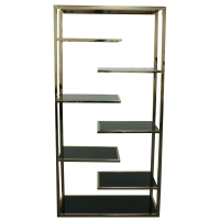 Guido KD Display Cabinet Black Glass/6000010