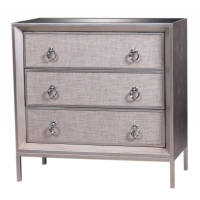 Mancini Mirrored Small Cabinet  3 Drawers/1500003