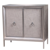 Mancini Mirrored Cabinet 2 Doors/1500004