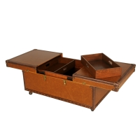 Wexford Coffee Table 2 Trays, Granola/Cacao***CLOSEOUT***/1700001