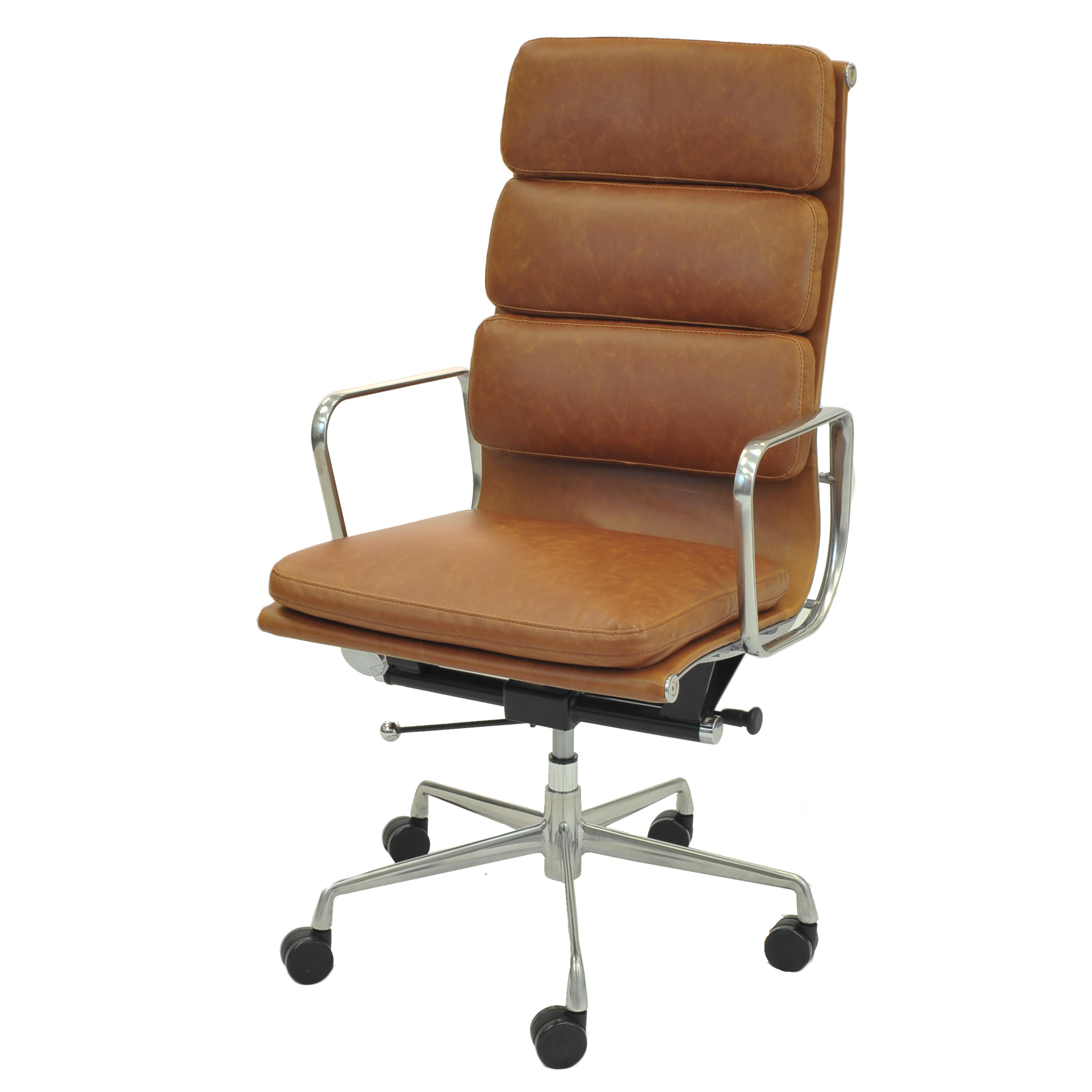 Chandel PU High Back Office Chair , Vintage Tawny/6900003 VT