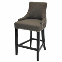 Charlotte Fabric Counter Stool, Toffee/108526-HS01