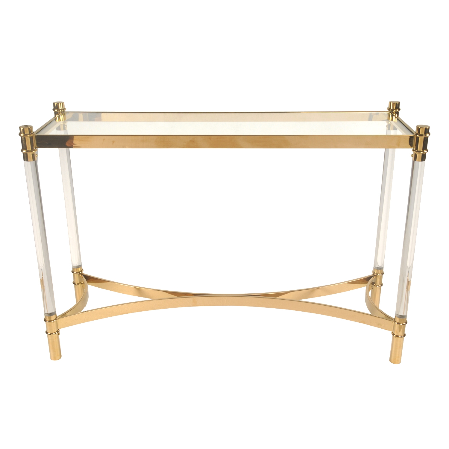 fresca white console table kd acrylic intended inspiration
