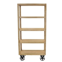 Cannes Book Shelf, Washed Brown/802270-823