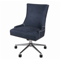 Charlotte Fabric Office Chair, Denim Slate/1900085-157