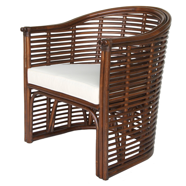 Knox Rattan Tub Chair, Earth Tone Brown/2400016