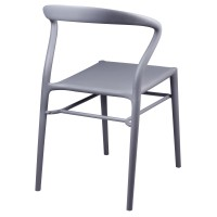 Judy Molded PP Chair, Gray***CLOSEOUT***/6100029-G