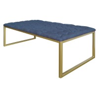 Avril KD Coffee Table, Denim Slate Blue/9900012-157