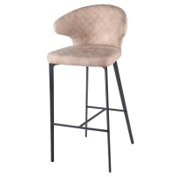 Bradley KD Fabric Counter Stool, Saltbox Hide Taupe/4400050-220