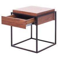 Kali End Table, Walnut/1030005