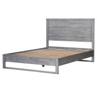 Callisto Queen Bed Set, Weathered Gray/7800014-WG