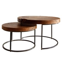 Otto Coffee Table Set of 2, Natural/9600022