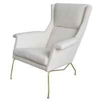 Evian KD Arm Chair, Icy Leafage Beige/9900008