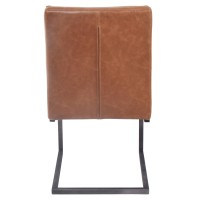 Ronan KD PU Dining Chair, Antique Cigar Brown/1060002-215
