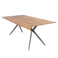Pollux KD Dining Table, Antique Woodland/1100005