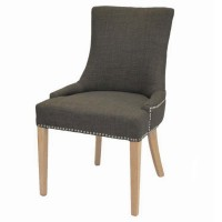 Charlotte Fabric Chair NWO Legs, Toffee/108237-HS01N