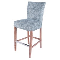 Milton Fabric Bar Stool, Quiver Indigo Blue/268530-244