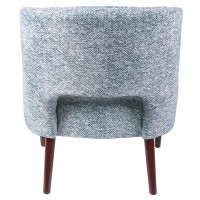 Wesley KD Fabric Chair, Quiver Indigo Blue/3500059