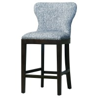 Dorsey Fabric Counter Stool, Quiver Indigo Blue/3900026