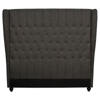 Alice Queen Wing Headboard, Umber***CLOSEOUT***/357860-MS11