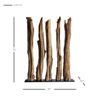 Gertha KD Root Divider, Natural/9600013
