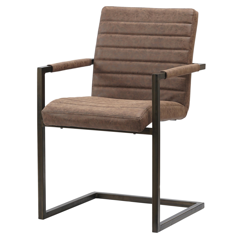 Gerald KD PU Arm Chair, Kalahari Brown/3400021 267