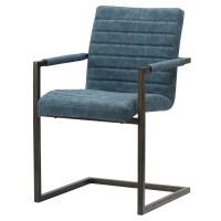 Gerald KD PU Arm Chair, Kalahari Blue/3400021-268