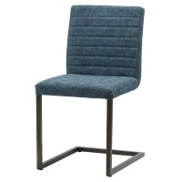 Gerald KD PU Chair, Kalahari Blue/3400022-268