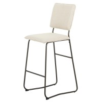 Nash KD Fabric Bar Stool, Granola/3000011-282