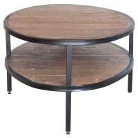 Salvatore Oval Coffee Table, Rustic Gamma/1120004