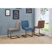 Gerald KD PU Chair, Kalahari Gray/3400022-266