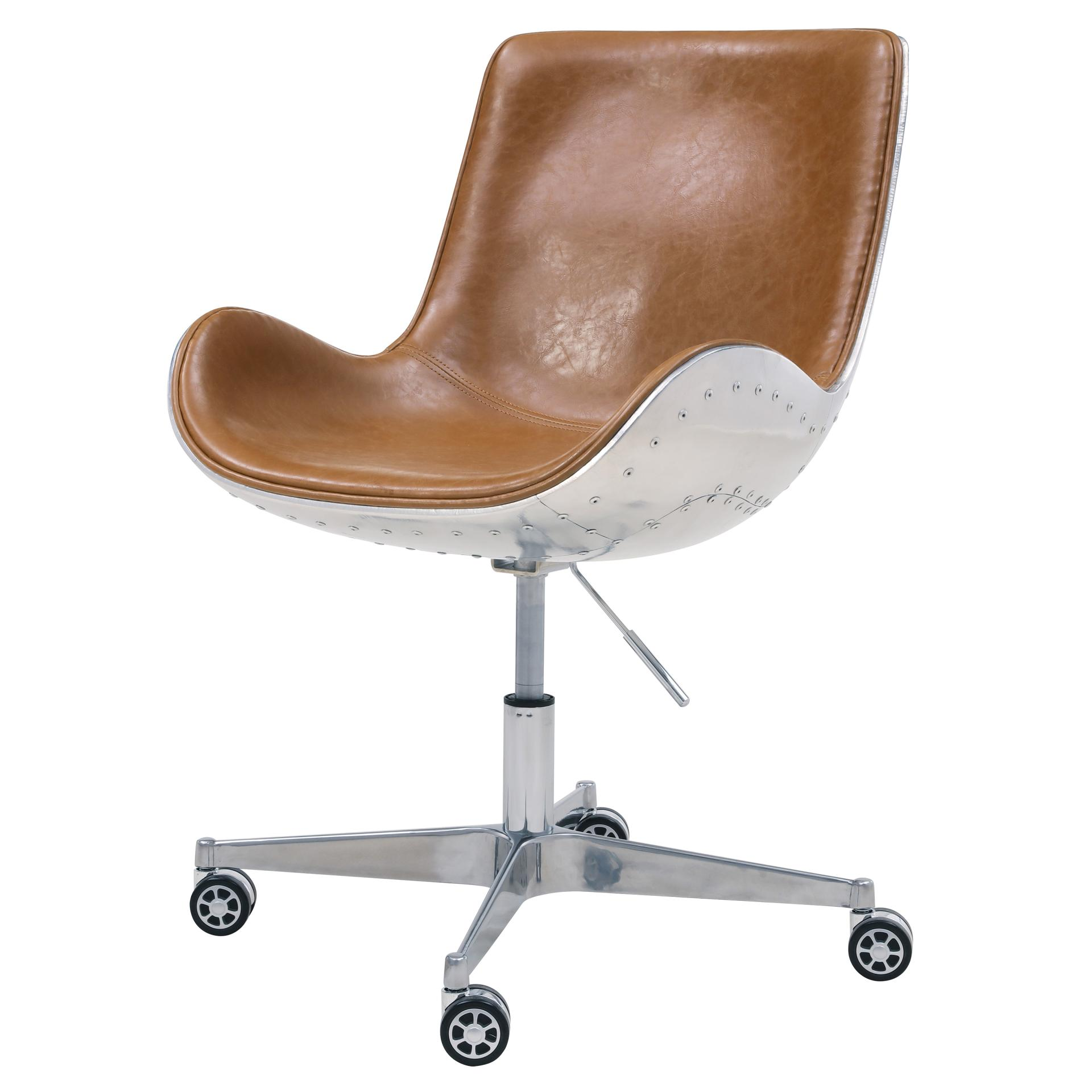 A Shapely Swivel Seat Inspired By Mid Century Design Our: 6300001-D1 - NPD Home Furniture