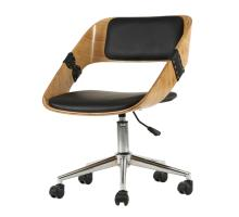 Stuart KD PU Bamboo Swivel Office Chair/1160008
