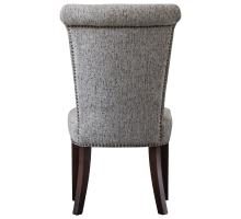 Bentley Fabric Nailhead Chair, Drizzle Gray/1900104-328
