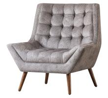 Oxford KD Fabric Tufted Accent Chair/1900110