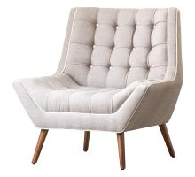 Oxford KD Fabric Tufted Accent Chair/1900111