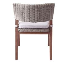 Shiloh Rattan Chair, Greige Gray/7400019