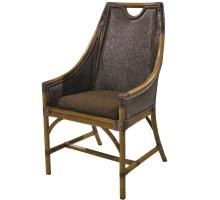 Malaki Rattan Chair, Brown White Wash/8700018
