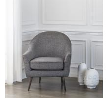 Duncan Fabric Accent Chair, Century Gray/9900024-331