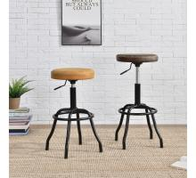 Eaton KD Gaslift Bar Stool, Vintage Cedar/9300042-309