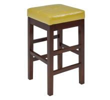 Valencia Backless Leather Counter Stool, Wasabi***CLOSEOUT***/108627-8231