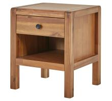 Sorrento Night Stand/Side Table, Newton Brown/8000043