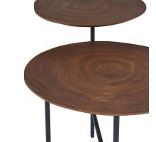 Myrtle KD End Table, Walnut/1030016