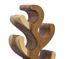 Kaleo Trembesi Tree Wine Holder, Natural *NEW*/1210006