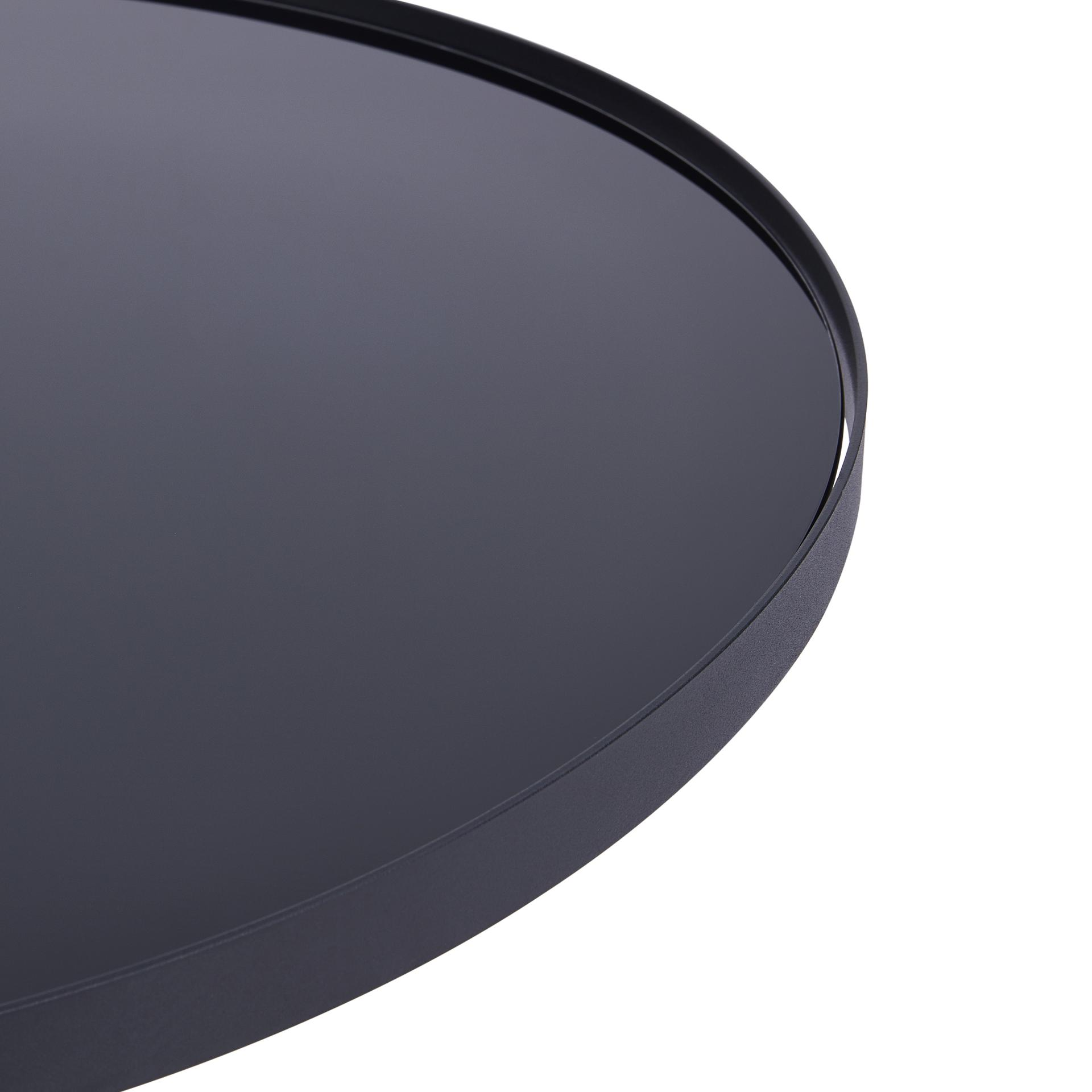 3pc Black Temper Glass Tops Metal Legs Coffee Table W: Wholesale Lifestyle Furnishings