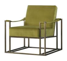 Esmond  Velvet Fabric Arm Chair, Sabah Green *NEW*/3900048-377
