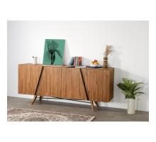 Dartford KD Sideboard 4 Doors, Acorn Brown/1220009