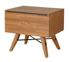 Dartford KD Night Stand/Side Table 1 Drawer, Acorn Brown *NEW*/1220011