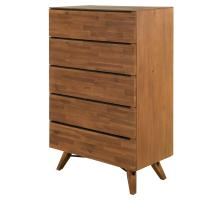Dartford KD Chest 5 Drawers, Acorn Brown *NEW*/1220013